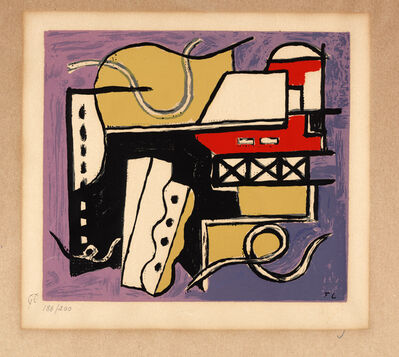 Fernand Léger, 'Untitled, from an album of 10 serigraphs'