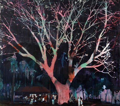 Jules de Balincourt, 'Waiting Tree', 2012