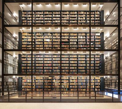 Reinhard Gorner, 'Beinecke Library I', 2020