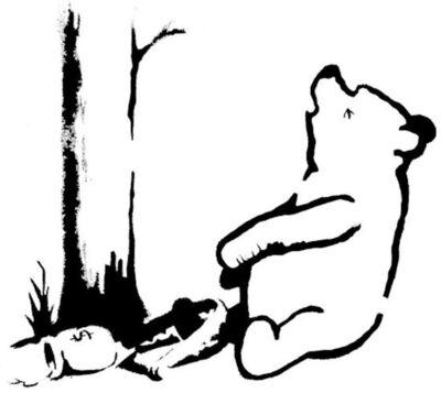 Banksy, 'Winnie the Pooh ', 2013