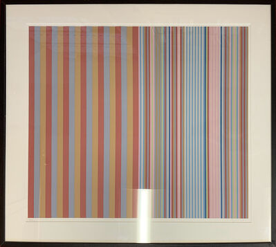 Gene Davis, 'Royal Canoe', 1977