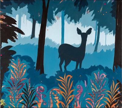 Anne Sargent Walker, 'Blue Deer', 2017