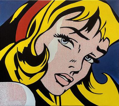 Steve Kaufman, 'CRYING GIRL - HOMAGE TO LICHTENSTEIN', 1995-2005