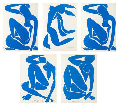 Henri Matisse, '5 x Blue Nude', 1958