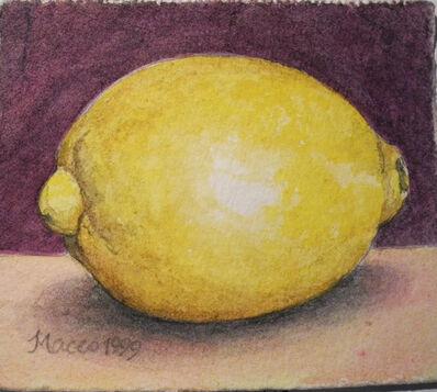Maceo Mitchell, 'Lemon on Purple', 1999