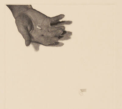 Liliana Porter, 'Untitled (hand with paper)', 1973