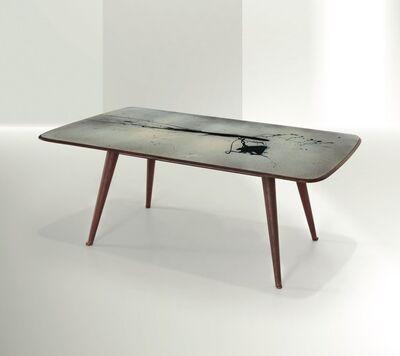 Lucio Fontana, 'Concetto Spaziale table, Italy', 1952