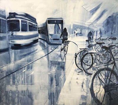 Luis Enrique Camejo, 'Zurich. De la serie bicicletas', 2011