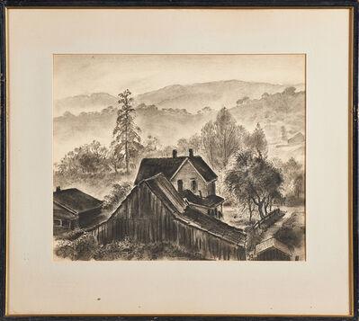 Bror Julius Olsson Nordfeldt, 'Two Drawings'