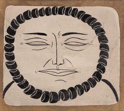 Margaret Kilgallen, 'Untitled (Face)'