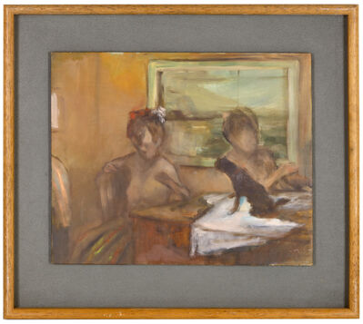 Ansel Krut, 'Study (at table)', Painted in 1988.