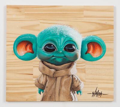 Sipros, 'Baby Yoda with big ears', 2021