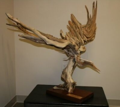 Larry Ringgold, 'Heron in Flight'