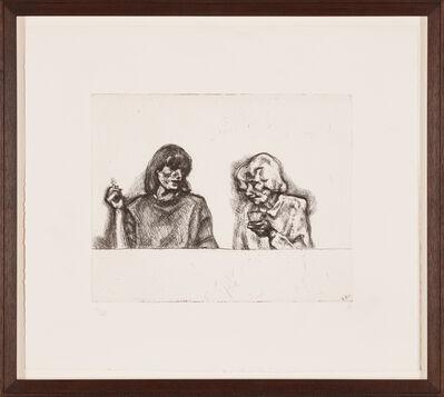 Lucian Freud, 'A Conversation', 1998