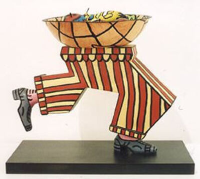 Robert Combas, 'Arc de triomphe – Coupe de fruits', 1995