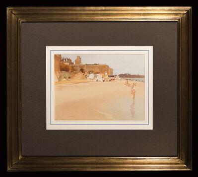 William Russell Flint, 'Golden Sands, St Malo'