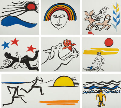 Alexander Calder, 'The Sacrilege of Alan Kent', 1976