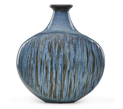 Rupert J. Deese, 'Large vase with modeled texture, Claremont, CA'