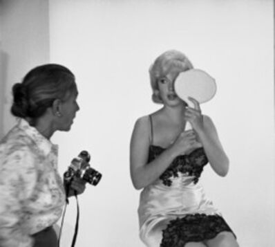 "Eve Arnold, 'Marilyn Monroe during the filming of ""The Misfits""', 1960"