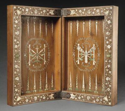 'Jeu de jacquet (Backgammon)', 1594-1610