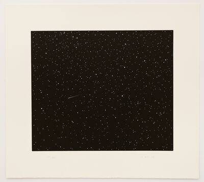 Vija Celmins, 'Comet (from the portfolio Skowhegan Suite 1992)', 1992