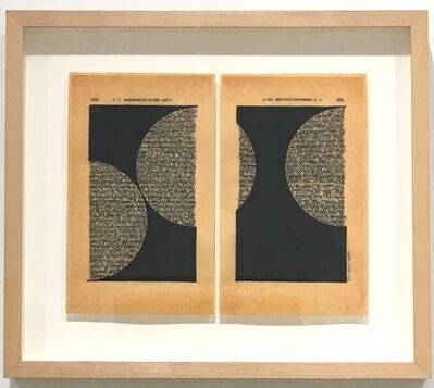 Oriane Stender, 'Untitled Page Drawing (p. 282 & 283)', 2014