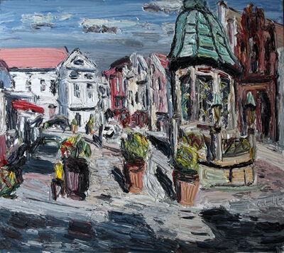 Christopher Lehmpfuhl, 'Sonniger Markt Wismar', 2011