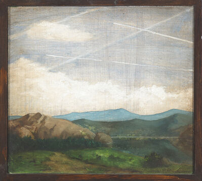 Nevan Lahart, 'Constable's cloudy conspiracy II', 2015