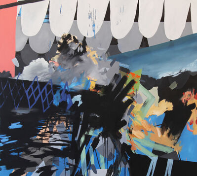 Aaron Collier, 'Waves and Diamonds', 2012