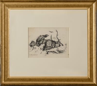 Edward Hopper, 'Sir Edwin Lansdeer (Dead Stag)', ca. 1900