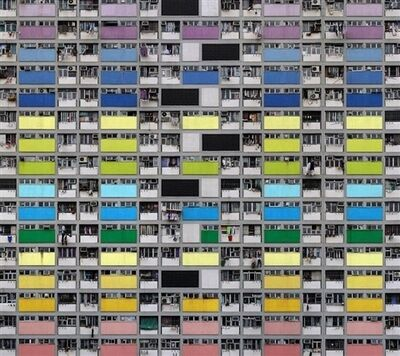 Michael Wolf (b. 1954), 'Architecture of Density #99', 2007
