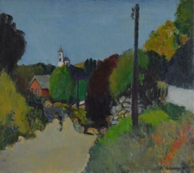 Kerop Dzarukovich Sogomonyan, 'The village exit', 1992