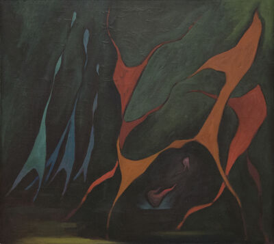 Lorser Feitelson, 'Dancers - Magical Forms', 1945
