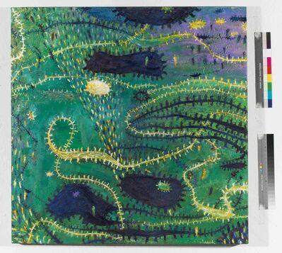Gunter Damisch, 'Grünfeldverschlingungsleuchten', 1999