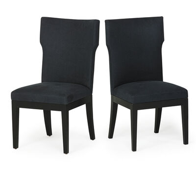 Christian Liaigre, 'Pair of tall back chairs', 2000s