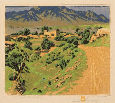 Gustave Baumann, 'Ranchos de Taos', 1930