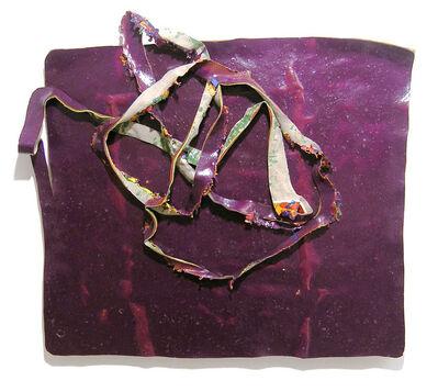 Xavier Escribà, 'I així ho vaig deixar (violeta)', 2005