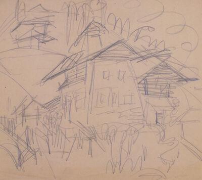 Ernst Ludwig Kirchner, 'Haus in Wiesen', 1920