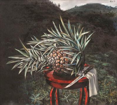 Enrique Grau, 'Naturaleza muerta con piña', 1992