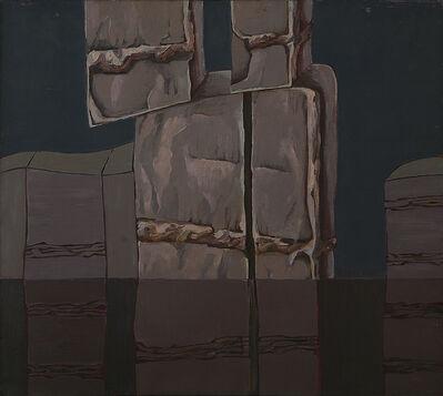 Marilena Preda Sanc, 'Module in landscape', 1982