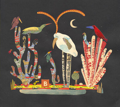 Lou Beach, 'Night Birds in the Royal Gardens', 2018
