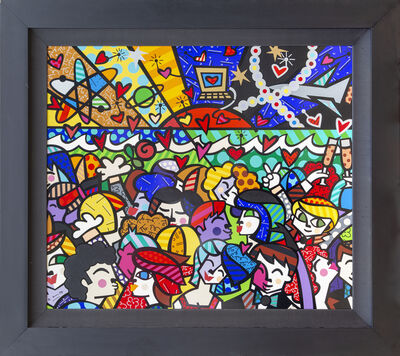 Romero Britto, 'Looking Into the Future', 2002
