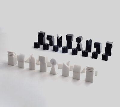 Sergio Camargo, 'jogo de xadrez (chess game)', 1973
