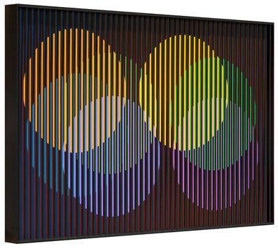 Carlos Cruz-Diez, 'Chromointerférence Spatiale Décembre', Paris 1964/2017