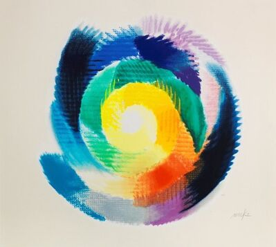 Heinz Mack, 'Colors turn around', 1999