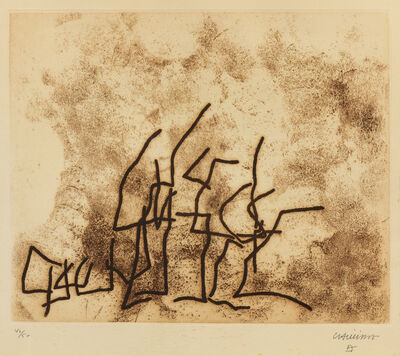 Eduardo Chillida, 'Écarts', 1961