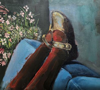 Devorah Jacoby, 'Blue Couch', 2019