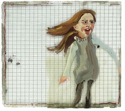 Chantal Joffe, 'Untitled (Girl in a Blue Dress)', 2000