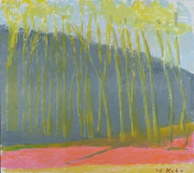 Wolf Kahn, 'Purple Path', 2018