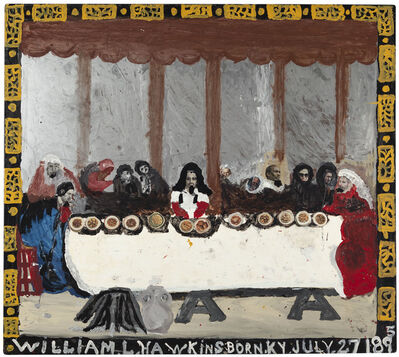 William Hawkins, 'Last Supper No. 9', 1987